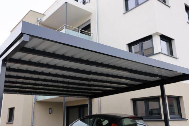 Carport en PVC