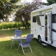 Carport pour camping-car