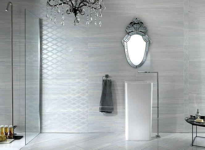notre s lection des plus beaux carrelages muraux ce carrelage effet marbre donnera un aspect. Black Bedroom Furniture Sets. Home Design Ideas