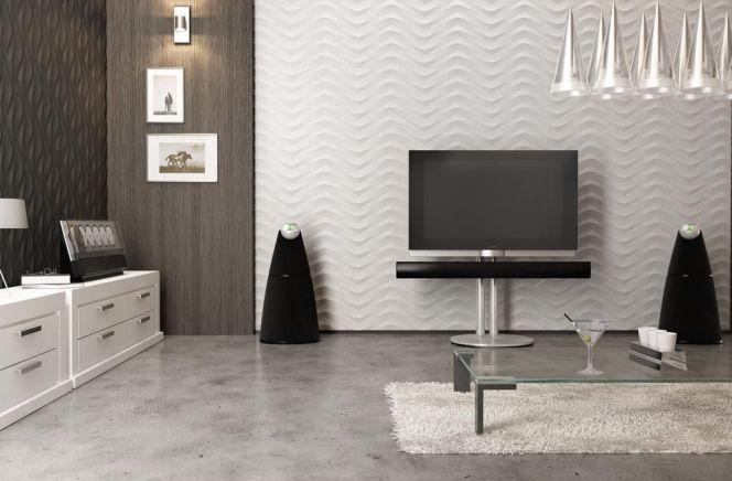 notre s lection des plus beaux carrelages muraux ce carrelage mural tr s contemporain avec. Black Bedroom Furniture Sets. Home Design Ideas