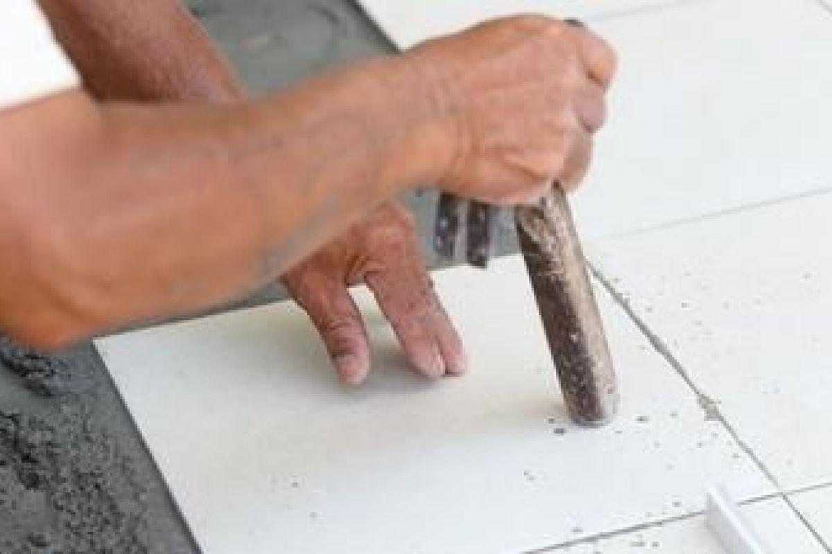 Reparer Eclat Carrelage Blanc un sol en granito