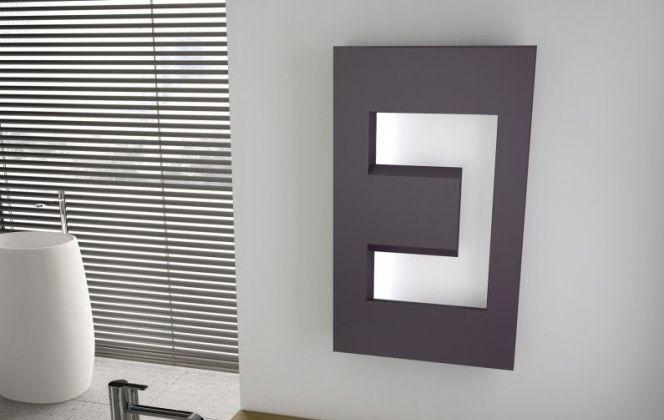 Ce radiateur électrique apportera une touche design à votre pièce. © Leroy Merlin