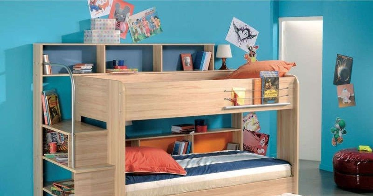 chambre d 39 enfant bibop par conforama. Black Bedroom Furniture Sets. Home Design Ideas