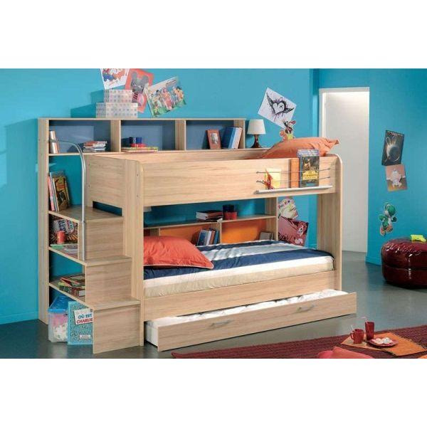 Chambre d 39 enfant bibop par conforama - Conforama lit de chambre pour un couple ...