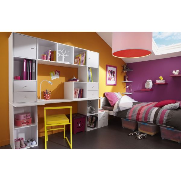 chambre d 39 enfant multikaz par leroy merlin. Black Bedroom Furniture Sets. Home Design Ideas