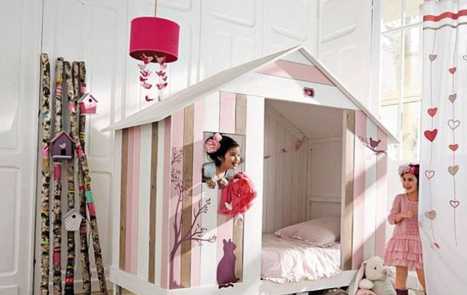 Chambre d'enfant Violette par Maisons du Monde © Maisons du Monde