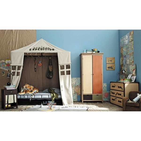 chambre enfant aventurier par maisons du monde. Black Bedroom Furniture Sets. Home Design Ideas