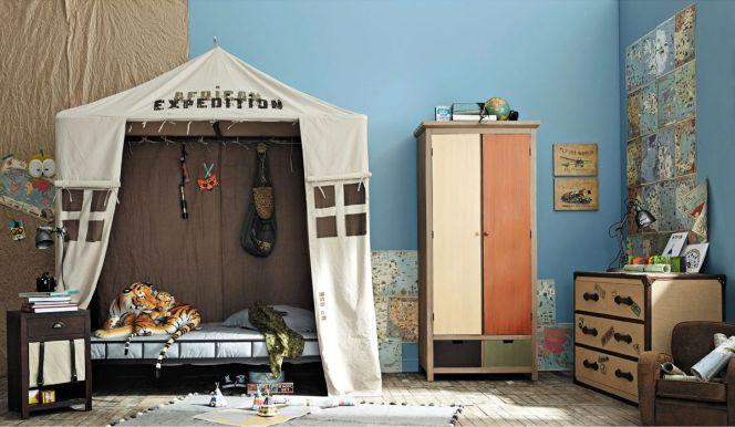 Id es d co pour une chambre de gar on chambre enfant aventurier par maisons du monde for Maison du monde chambre bebe garcon