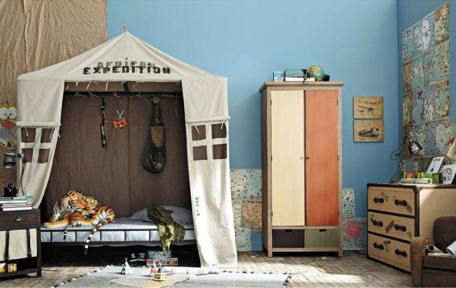 Chambre enfant Aventure par Maisons du Monde © Maisons du Monde