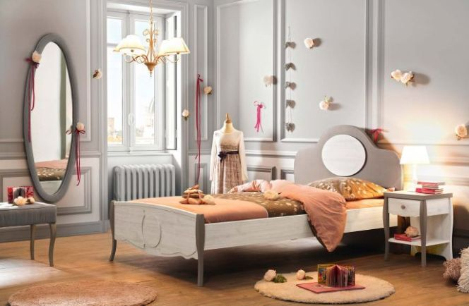 id es d co pour une chambre de fille chambre enfant demoiselle par gautier. Black Bedroom Furniture Sets. Home Design Ideas