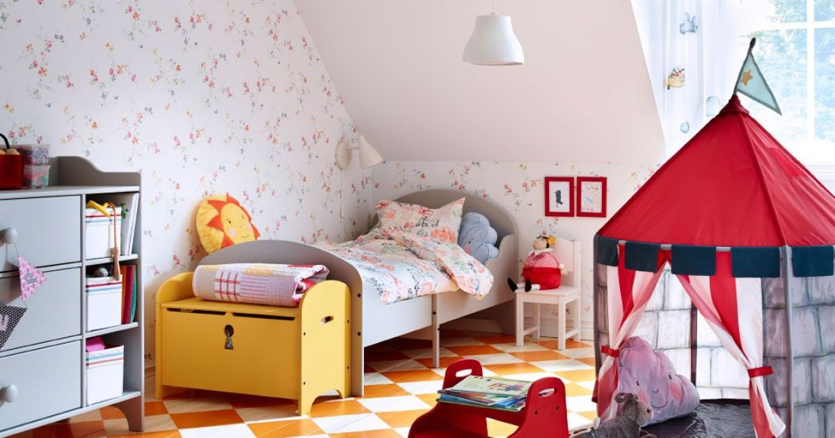 chambre enfant par ikea. Black Bedroom Furniture Sets. Home Design Ideas