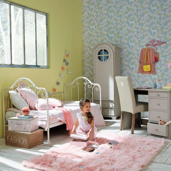 id es d co pour une chambre de fille chambre enfant par maisons du monde. Black Bedroom Furniture Sets. Home Design Ideas