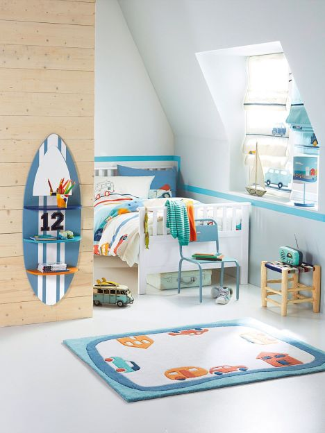 chambre enfant sky surf par verbaudet. Black Bedroom Furniture Sets. Home Design Ideas