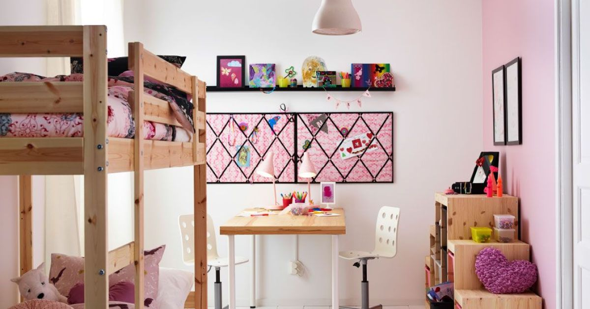 id es d co pour une chambre de fille chambre pour 2. Black Bedroom Furniture Sets. Home Design Ideas