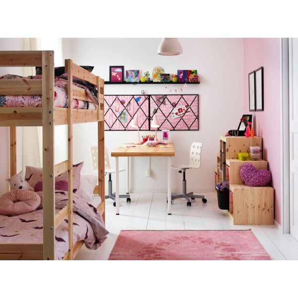 chambre pour 2 enfants par ikea. Black Bedroom Furniture Sets. Home Design Ideas