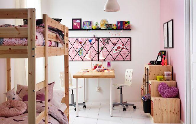 Chambre pour 2 enfants par Ikea © Ikea