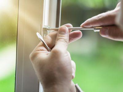 Changer la poignée d'une fenêtre