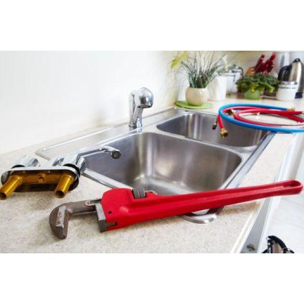 Changer ou remplacer un robinet de cuisine - Changer robinet cuisine ...