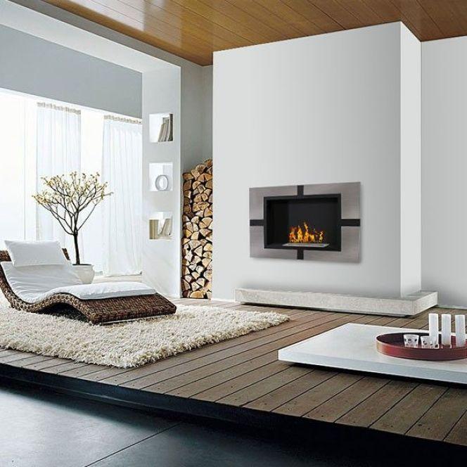 notre s lection des plus belles chemin es murales. Black Bedroom Furniture Sets. Home Design Ideas