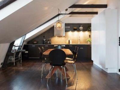 Comment aménager un appartement mansardé ?