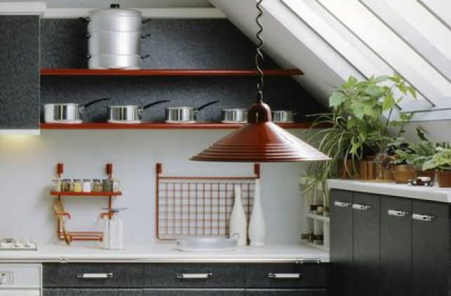 Comment aménager une cuisine mansardée ?