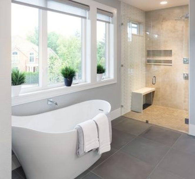 Salle de bains en longueur for Salle de bain longueur