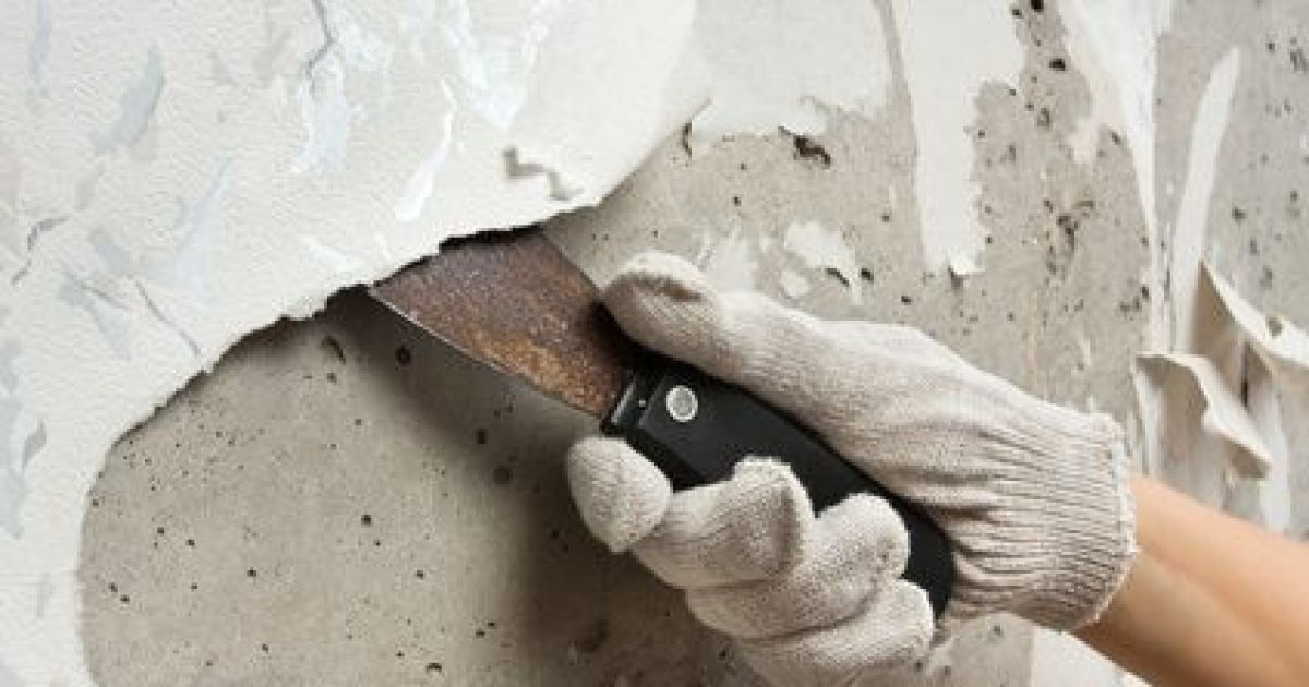 comment dcoller le papier peint dun mur - Peinture Qui Se Decolle Comme Du Papier Peint