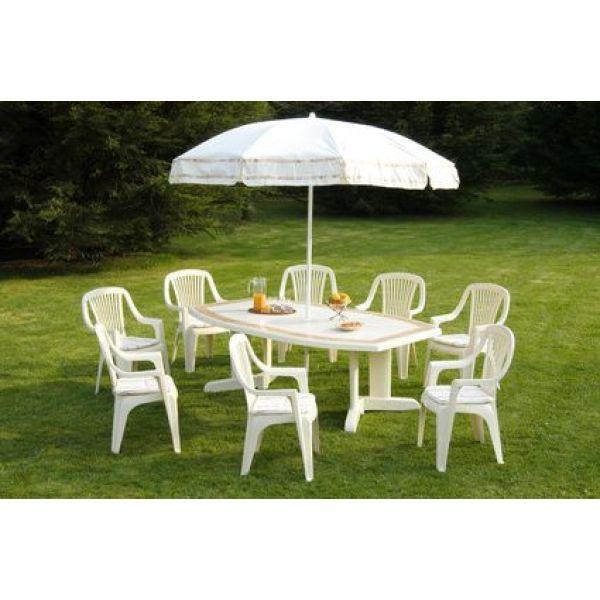 Mobilier de jardin plastique entretenir le mobilier de - Repeindre salon de jardin en plastique ...