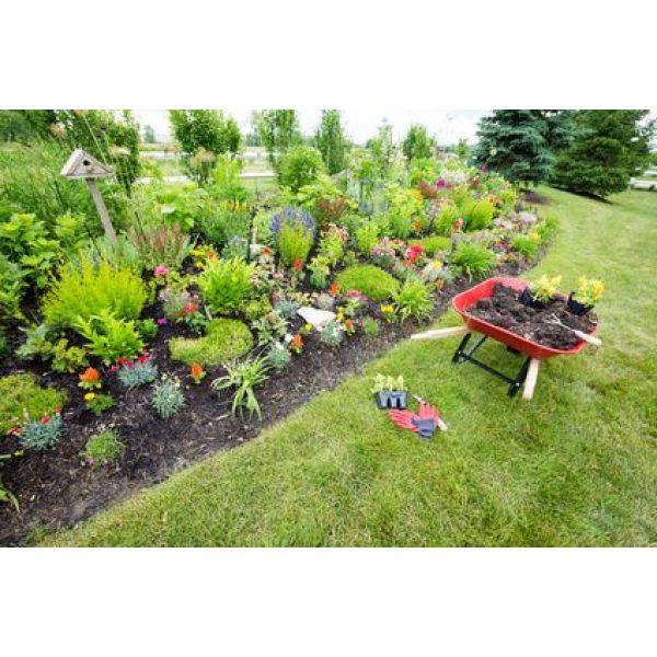 Comment pr parer et travailler la terre avant de fleurir - Comment retourner la terre du jardin ...