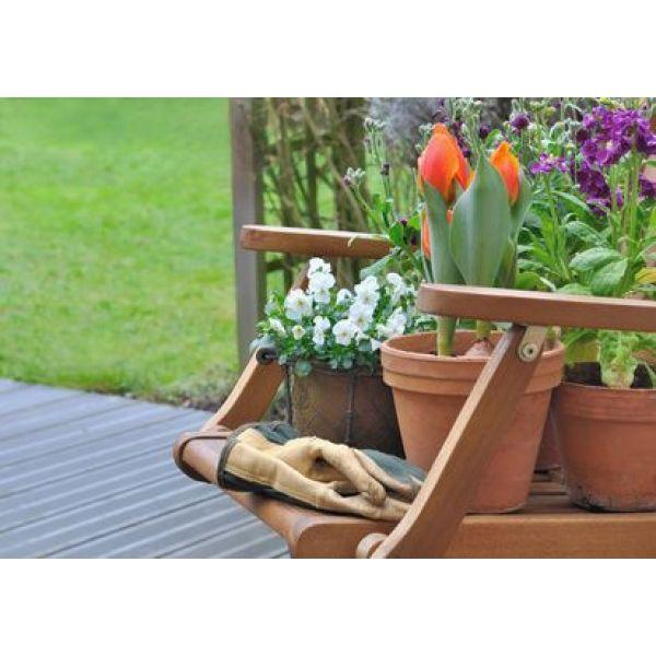 comment r aliser une pot e fleurie. Black Bedroom Furniture Sets. Home Design Ideas