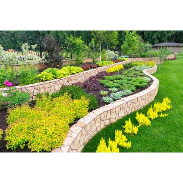 Composer un jardin fleuri r gles de base - Massif fleuri toute l annee ...