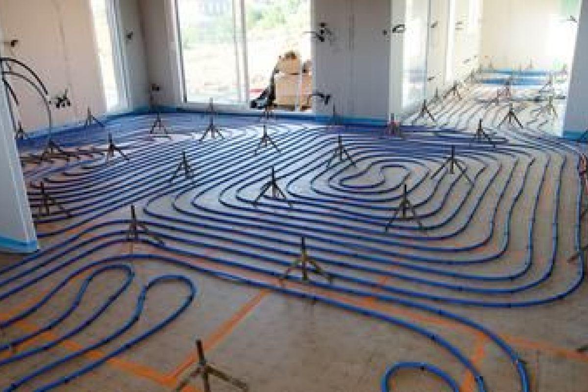 Coût Plancher Chauffant Hydraulique consommation en énergie d'un chauffage au sol