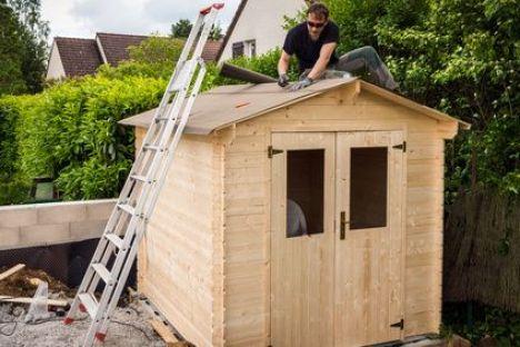 Construction d'un abri de jardin