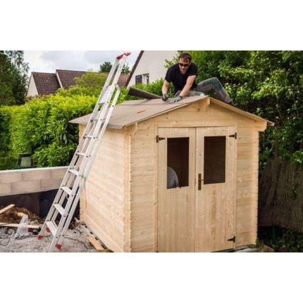 Construction d 39 un abri de jardin tapes et prix - Amenager un abri de jardin ...