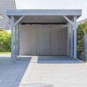 Construction d'un carport ou abri de voiture