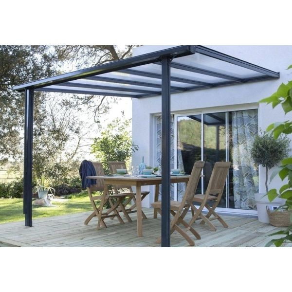 construction d une pergola de jardin. Black Bedroom Furniture Sets. Home Design Ideas