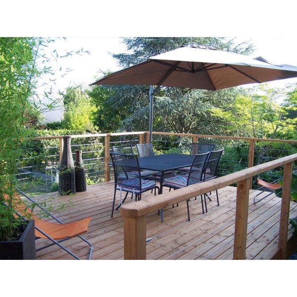 Construction d une terrasse sur lev e - Construire terrasse surelevee ...