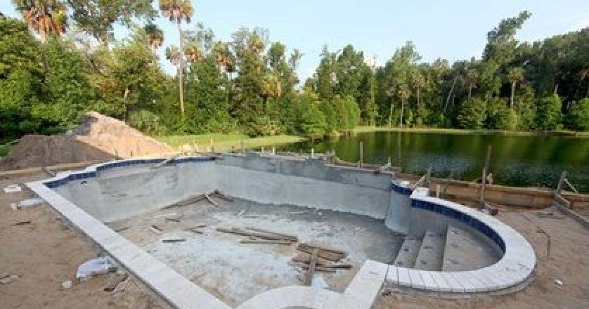 construction d 39 une piscine conseils travaux