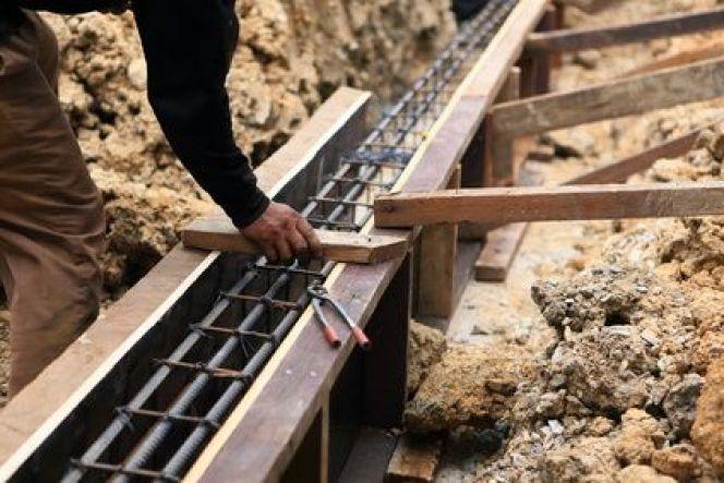 Construire les fondations d'une maison