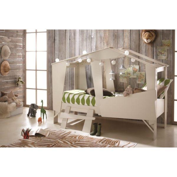construire une cabane dans une chambre d enfant. Black Bedroom Furniture Sets. Home Design Ideas