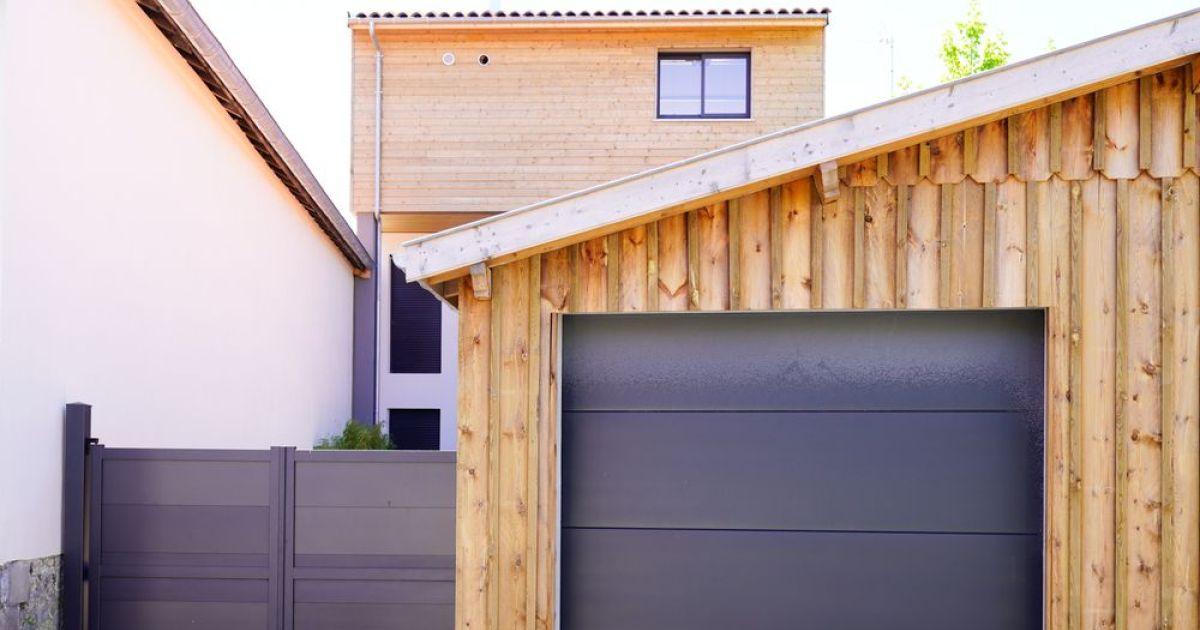 remplacement d une porte de garage