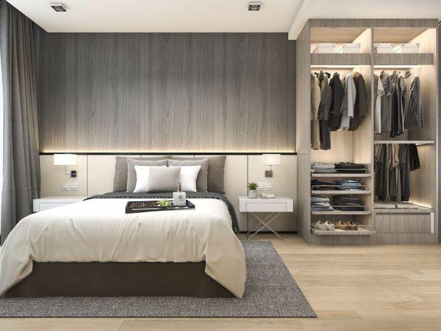 Créer des espaces de rangement dans une chambre