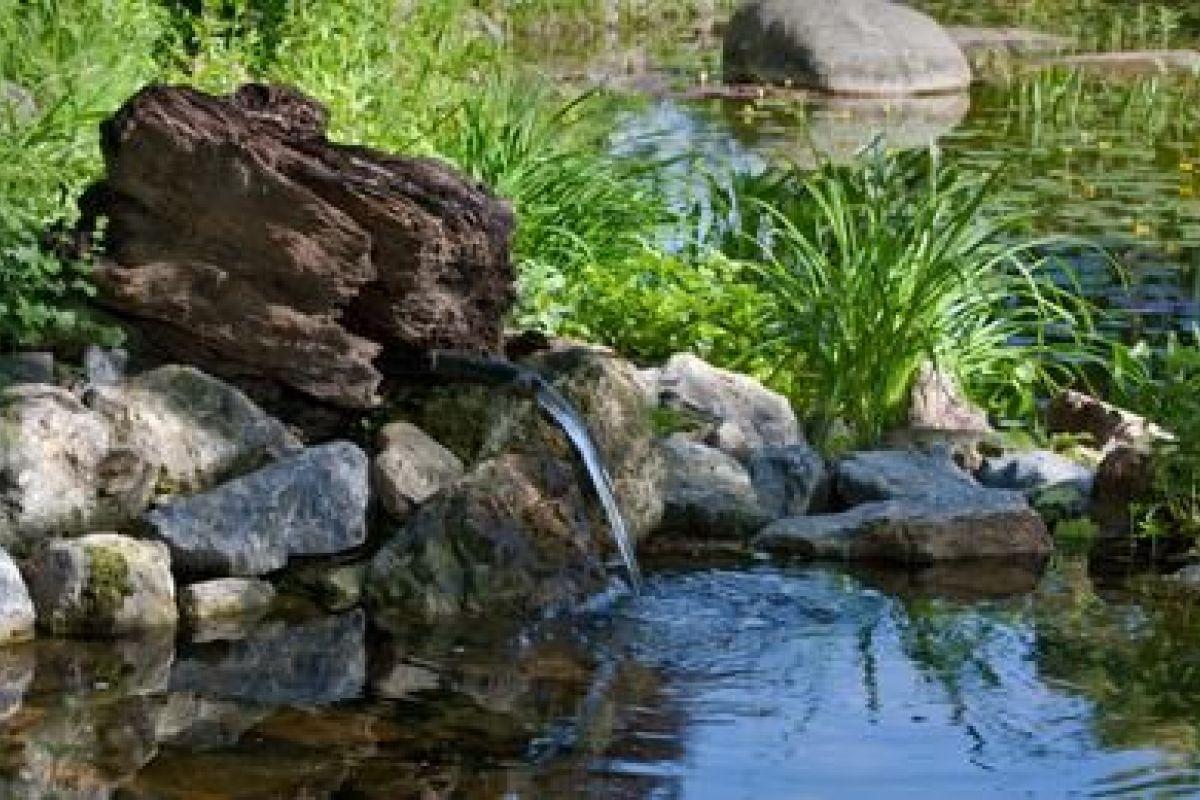Faire Une Cascade Sans Pompe cr�er un ruisseau de jardin : technique et travaux