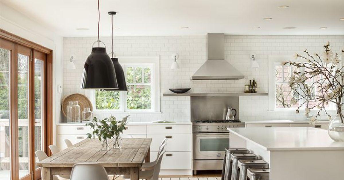 Cr er une cuisine familiale un grand espace de vie for Creer cuisine