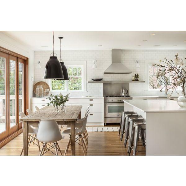 Cr er une cuisine familiale un grand espace de vie for Creer une cuisine ouverte