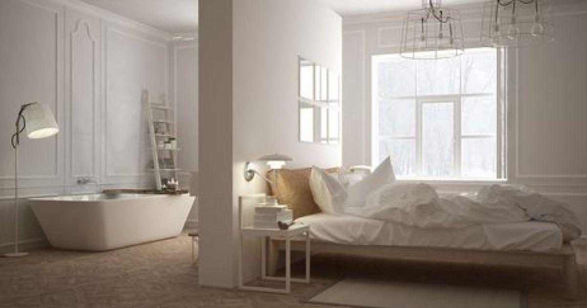 Cr er une petite salle de bain dans une chambre - Comment faire une cabane dans sa chambre ...