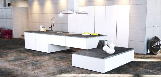 En photos les plus belles cuisines blanches cuisine blanche par charles rema - Les plus belles cuisines americaines ...