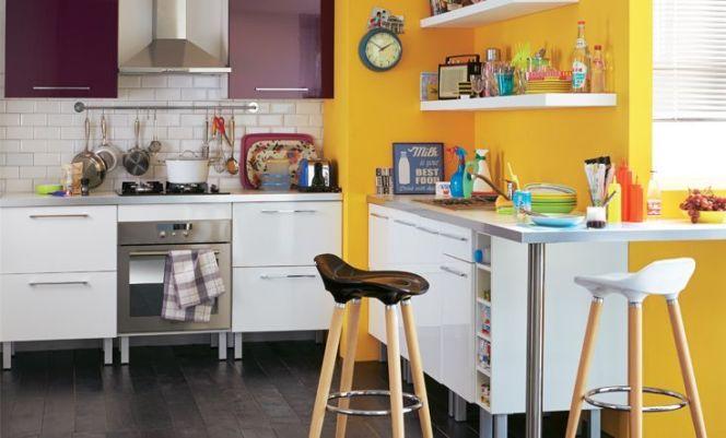 Notre s lection des plus belles cuisines color es for Deco cuisine coloree