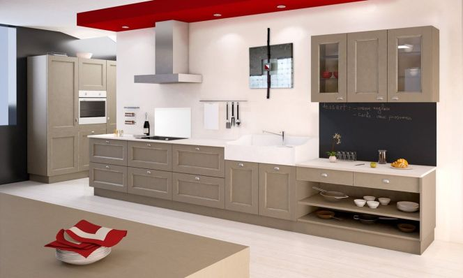 Notre s lection des plus belles cuisines en bois cuisine for Agencement cuisine en l
