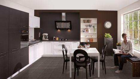 Cuisine en bois par cuisinella - Les plus belles petites cuisines ...